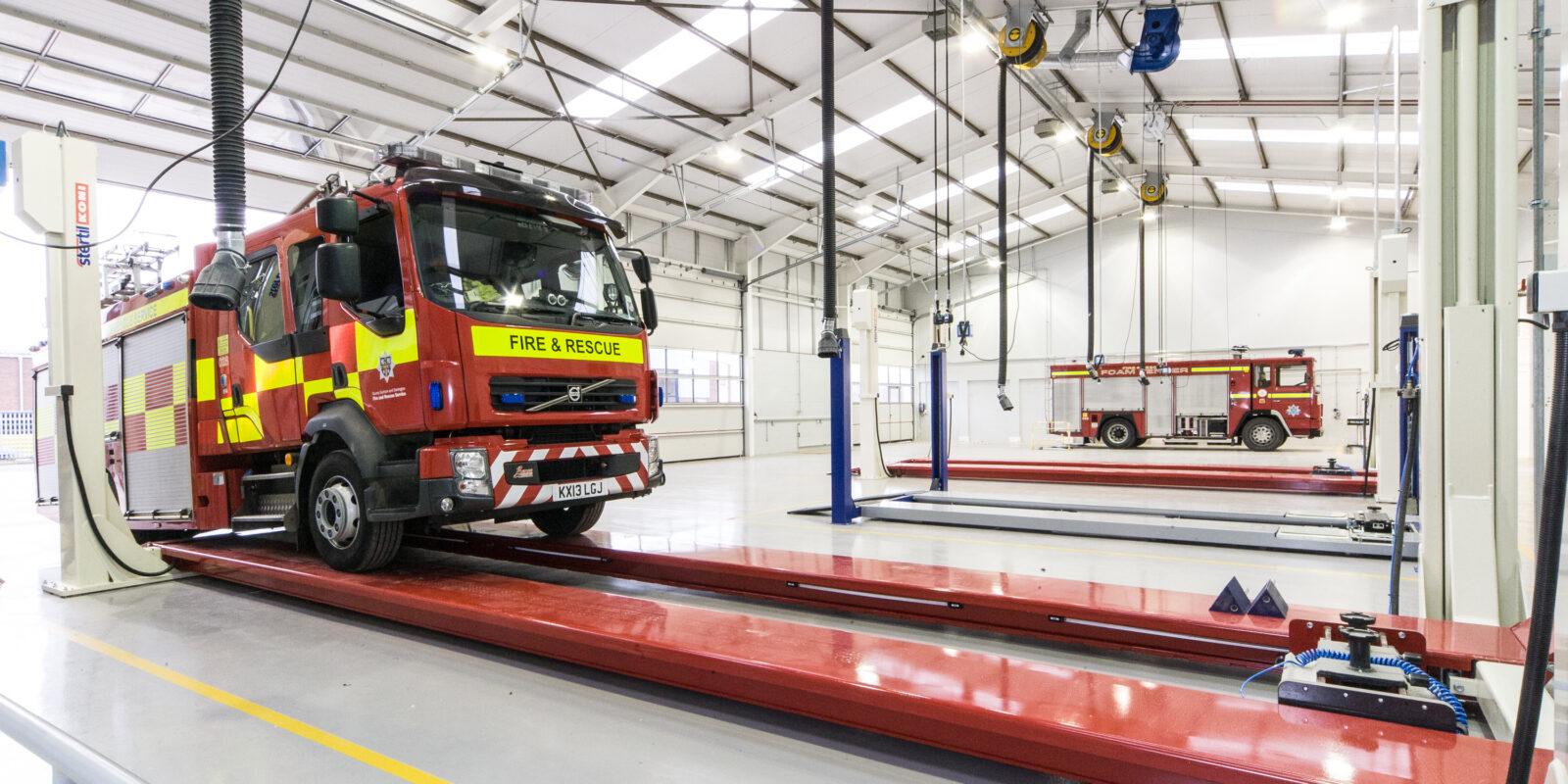 Commercial Vehicle Maintenance Workshop